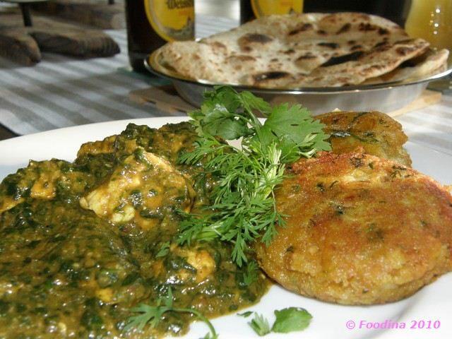 Aloo Ki Tikki - indische Kartoffelbällchen