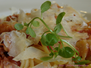 Linguine all'amatriciana
