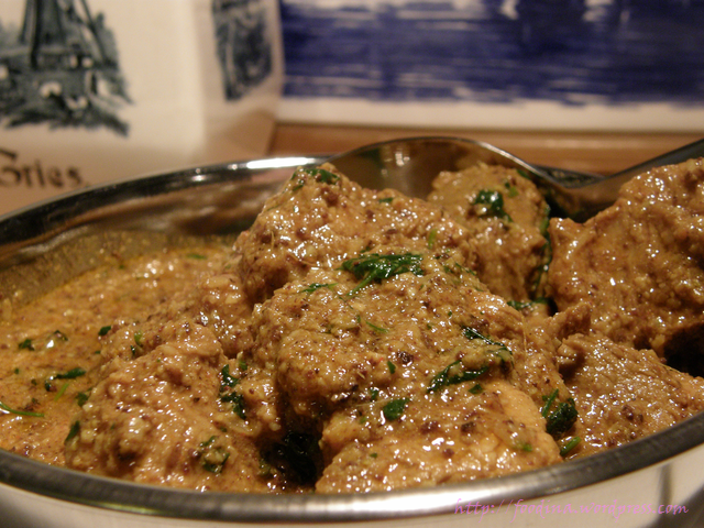 Pork Vindaloo nach Raghavan Iyer