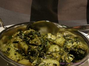 Aloo Methi – Kartoffeln mit Bockshornklee – Version 2