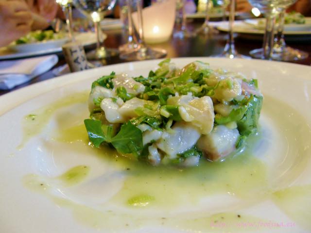 Ceviche mit Loup de mer und Dorade