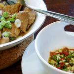 Muh Phad Gratiam Prik Thai – Schweinefleisch mit Knoblauch und Pfeffer