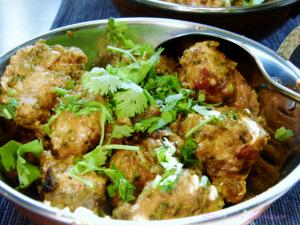 Teekha Murg Tikka – indische Hähnchenspiesse