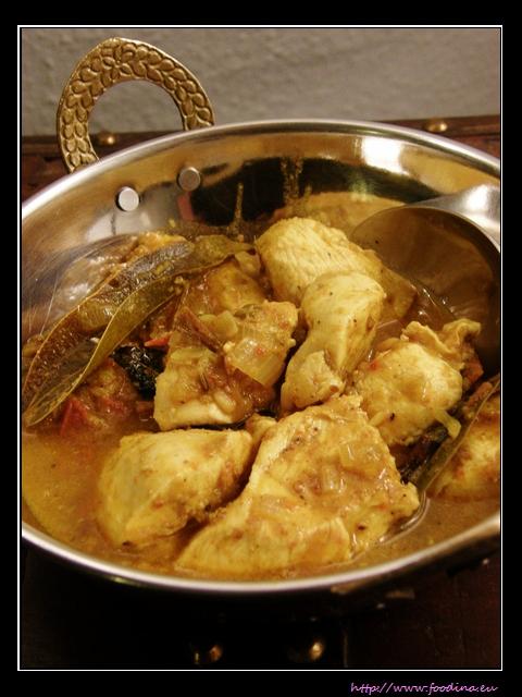 Koli Milagu Masala - pfeffriges Hähnchencurry aus Chettinad