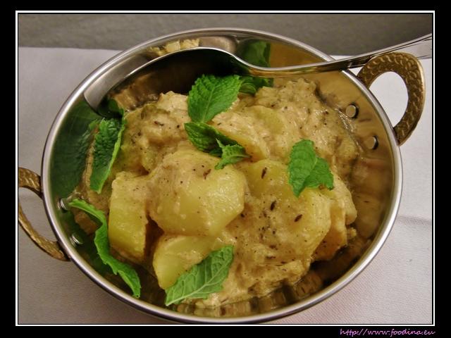 Malaidhar Aloo - cremiges Kartoffelcurry