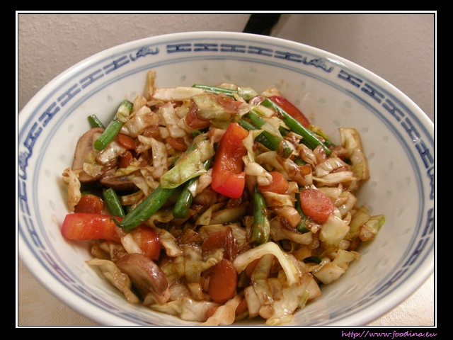 Phad Pak Ruam - Thai-Wokgemüse