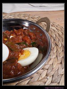 Egg Bafat – Eier in scharfer Tomatensauce