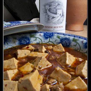 Mapo Doufu - scharfes Tofu-Hack-Gericht