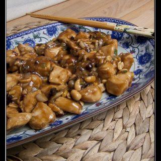 Gong Bao Ji Ding - Kung Pao Huhn mit Erdnüssen
