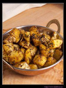 Ajwaini Aloo – indische Bratkartoffeln mit Ajowan