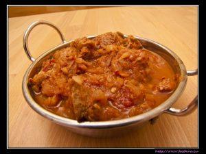 Pork Vindaloo – scharfes Curry mit Schweinfleisch