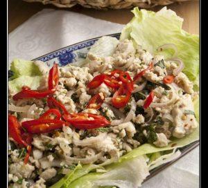 Thailändischer Hühnersalat – Larp Gai