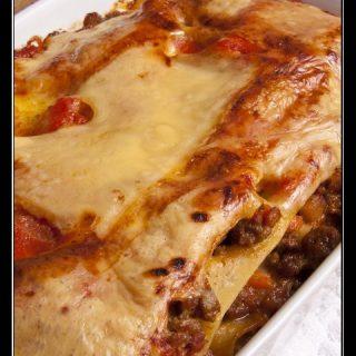 Schmand-Lasagne