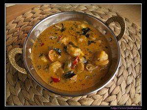 Tamatar Jingha – Garnelencurry mit Tomaten