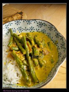 Ma Karal Curry – Schlangenbohnencurry aus Sri Lanka