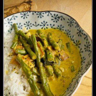 Ma Karal Curry - Schlangenbohnencurry aus Sri Lanka