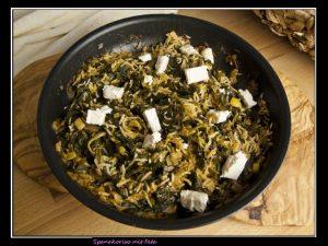 Spanakoriso – Reisgericht mit Feta und Spinat