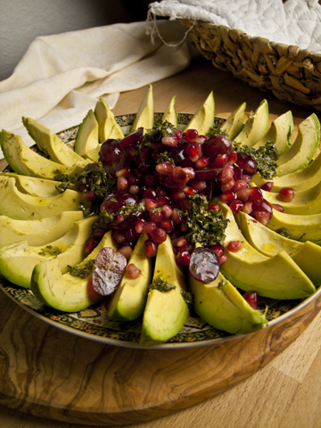 Avocado-Granatapfel-Salat