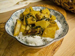 Knol Khol Curry – Kohlrabi-Curry aus Sri Lanka