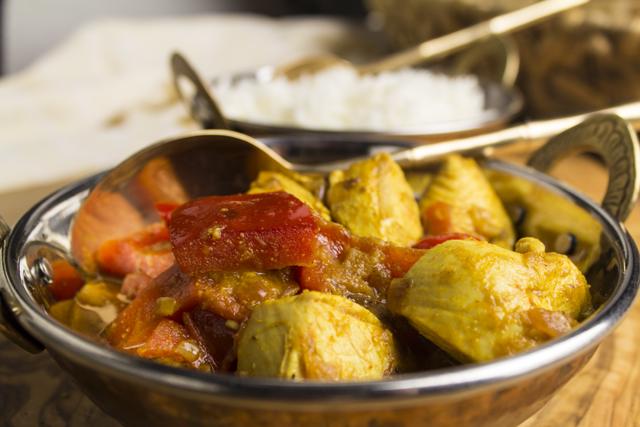 Murgh Jalfrezi - Paprika-Hühnchen auf indisch