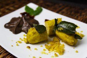 Banane mit Curryblättern nach Heiko Antoniewicz