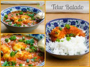 Telur Balado – Eier in Chilisauce