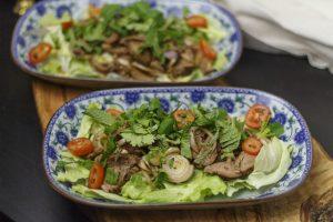 Thailändischer Rindfleischsalat – Yam Nuea