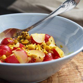 Indischer Radieschen-Salat