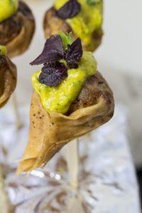 [Fingerfood] Wan Tan mit Koriander, Minze und Bergamotte