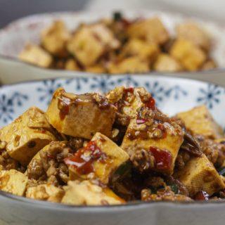 Mapo Doufu, diesmal aus Asia Food