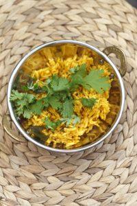 [indisch vegetarisch] Tamatar ke Chawal – Tomatenreis