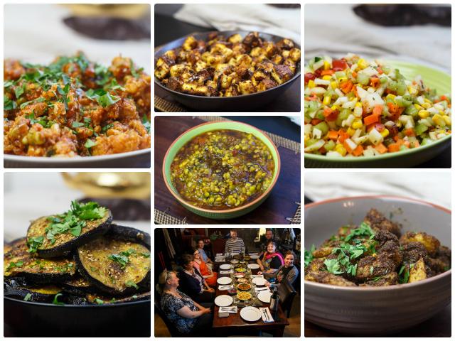 [Kochevent] Indien vegetarisch - Bericht und ein Minzlimo-Rezept