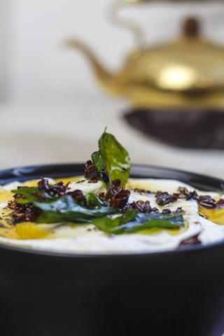 Tarka Mattha - scharf gewürzter Joghurt
