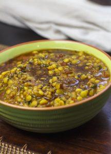 [indisch] Dal Tarka – Curry mit dreierlei Hülsenfrüchten