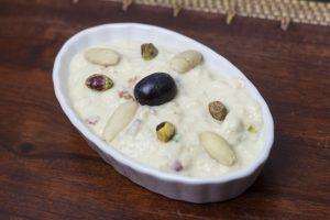 [indisch] Angoori Rabadi – Feiner Frucht-Nuss-Pudding