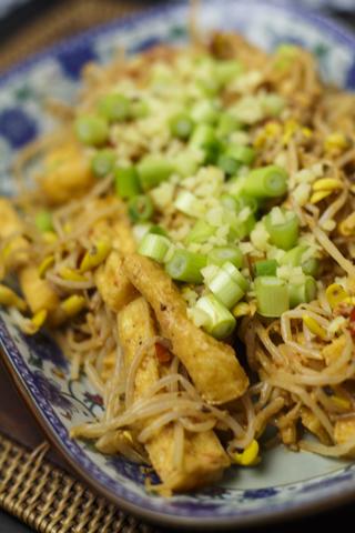 [chinesisch] Tofu-Sprossen-Salat