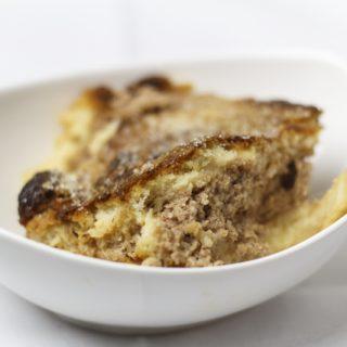 Schwarzweisser Pudding