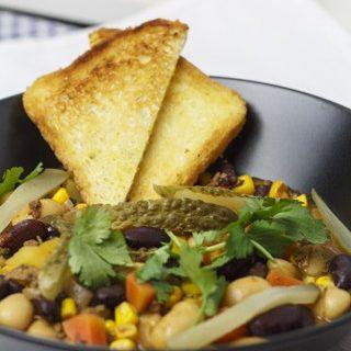 Chili-Bohnen-Eintopf