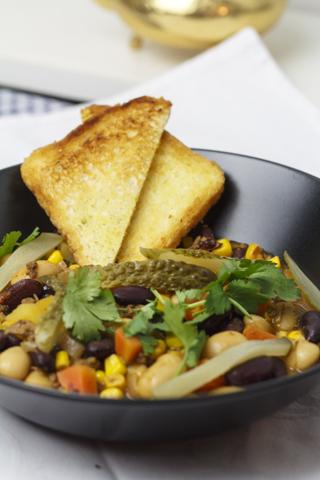 [vegan] Chili-Bohnen-Eintopf