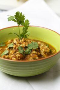 [thailändisch] Nam Prik Aong – ein Currydip mit Tomate und Huhn