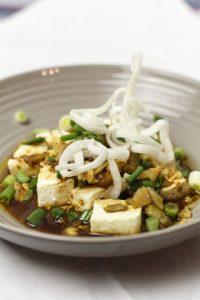 [chinesisch] Suan la dou hua – sauer-scharfer Tofu