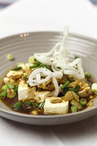[chinesisch] Suan la dou hua - sauer-scharfer Tofu