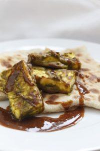 [indisch] Hariyali Paneer – gegrillter Paneer in grüner Masala mit schnellem Tamarindenchutney