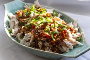 [chinesisch] Yu Xiang Ji Si – Fischduft-Hähnchen