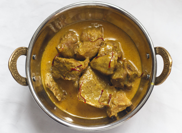 Kundan Kaliya - Golden Lamb Curry