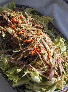 [thailändisch] Nam Tok Nuea – Wasserfallsalat mit Rindfleisch
