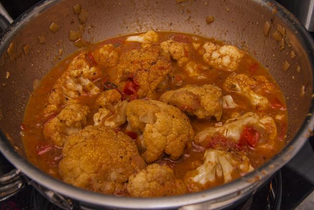 Gobi Vindaloo - südindisches Curry mit Blumenkohl