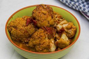 [indisch] Gobi Vindaloo – südindisches Curry mit Blumenkohl