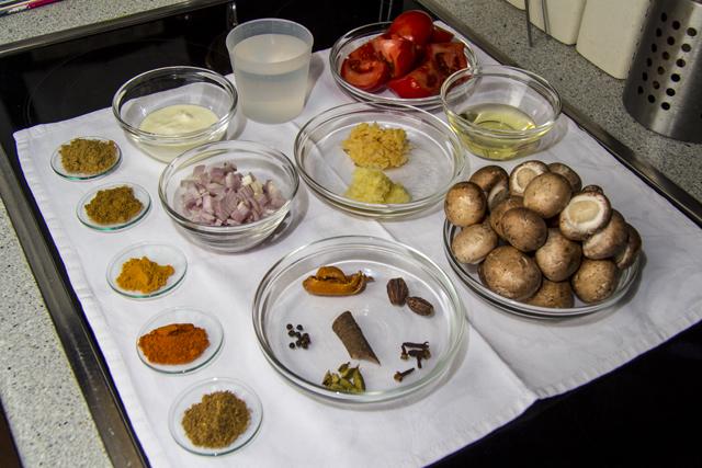 Rogan Josh mit Pilzen - ein wärmendes Curry aus Kashmir