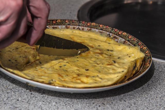 Mutta Puli - Omelett-Curry mit Kokosmilch